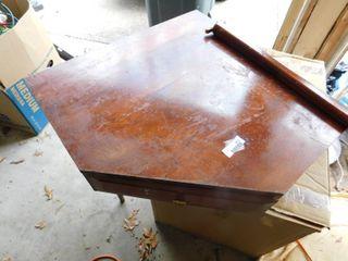 Solid Wood Unique Corner Desk