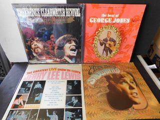4902 lot of four albums   Creedence Clearwater   3 others