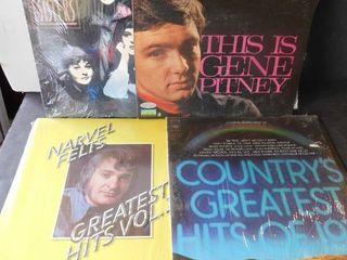 lot of four albums   Gene Pitney   others