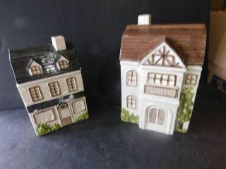 House cannister set  2 ea