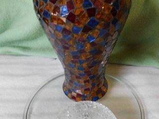 Mosaic Vase   Glassware