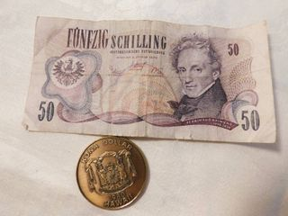 Foreign money Kona Dollar 80  50 shilling currency 70