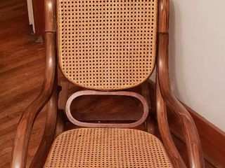 Bentwood Rocker   Seat  16 in  wide   one small hole in seat