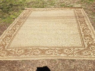 large Area Rug   95 x 131 in
