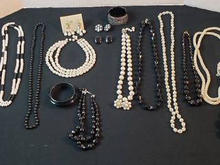 Fashion Jewelry  Necklaces  Bracelets and Clip Earrings