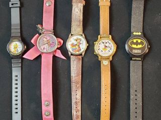 Fashion Watches  Tweety  Jojo  Trigger  Mickey Mouse and Batman