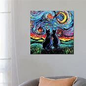 iCanvas  Van Gogh s Cats  by Aja Trier Canvas Print  Retail 87 99