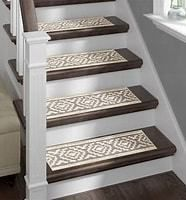 Sofia Rugs Shaggy Stair Treads White Aura Set of 13 with double sided tape  Retail 81 99