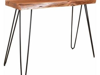 nspire Acasia Wood and Iron Console Table