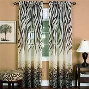 Achim Home Furnishings Kenya Curtain Panel  50 Inch by 84 Inch  Brown