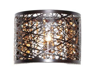 Inca Bronze Metal and Steel 1 light Wall Sconce  Retail 88 00
