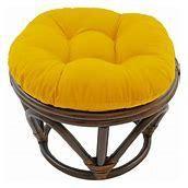 Blazing Needles 18 inch Footstool Cushion  Cushion Only