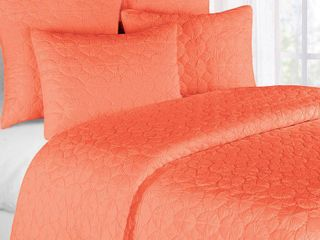 Coral Mara Cotton Quilt  Retail 161 99