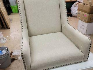 Martha Stewart Accent Chair Wingback Nailhead
