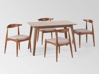 Francie Mid century Dining Table by Christopher Knight Home  Retail 599 99