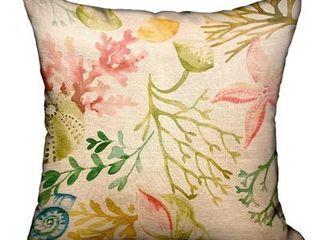 Plutus Garden Secrets Multicolor luxury Decorative Throw Pillow  Retail 119 49
