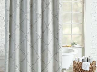 Peri Homeworks lattice Shower Curtain Bedding