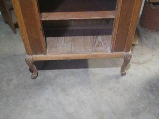 older wooden cabinet