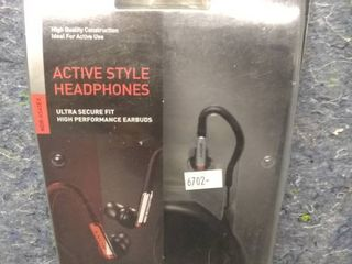 Sony MDR AS40EX Active Style Headphones   Over the Ear
