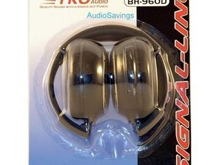 TKO BH960D Dual Channel Wireless IR Foldable Headphones Car Video Headsets