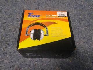 T View T 571HP IR Wireless Headphones