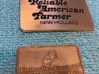 New Holland belt buckle