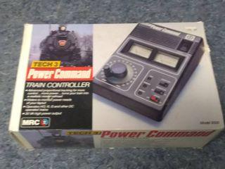 MRC Tech 3 9500 Power Command Train Controller Throttle HO N G Scale