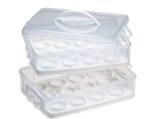 Snap n Stack Two layer Cupcake Carrier