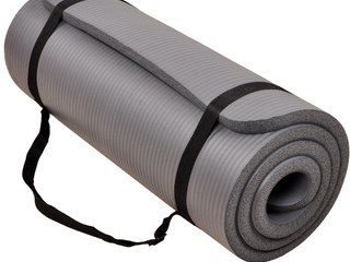 72in Grey Exercise Mat