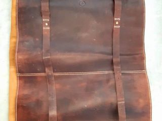 leather Chef Knife Roll Bag