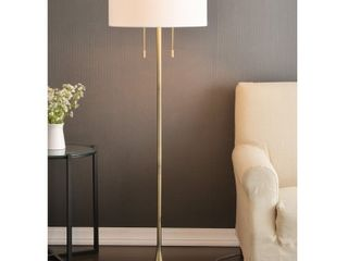 Kent 61 inch Brushed Steel Floor lamp Retail 148 99