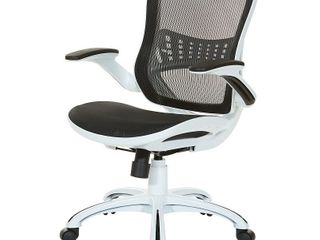 Riley Office Chair with White Mesh Seat and Back Retail 212 99