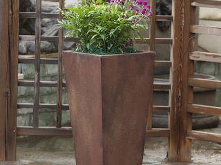 Classic Bronze Tall Angled Planter Retail 80 98