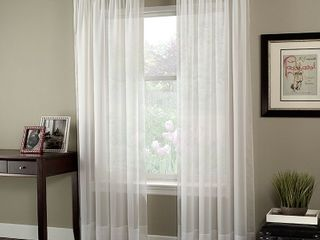 Soho Voile lightweight Sheer Curtain Panel 59x144  Retail   25 00