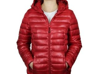 Blue Ocean Collection ladies Puffer Jacket with Hood 2Xl Retail   89 99