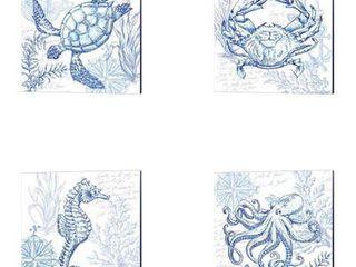 Tre Sorelle Studios  Coastal Sketchbook  Canvas Art Retail   106 99