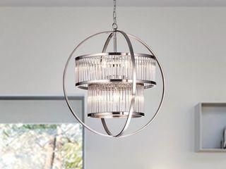 Orus 8   light Globe Chandelier Retail 226 99
