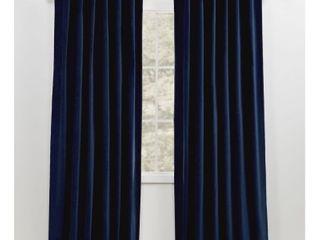 lauren Ralph lauren Velvety Back Tab Rod Pocket Curtain Panel 52x84  Retail 88 34