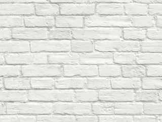 20 5 in  W x 18 ft  l   Vintage White  NextWall Vintage White Brick Peel and Stick Removable Wallpaper   20 5 in  W x 18 ft  l Retail   34 99