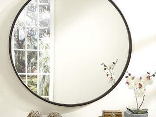 Martin Svensson Home Encamp 30 inch Round Framed Wall Mirror  Retail 111 99