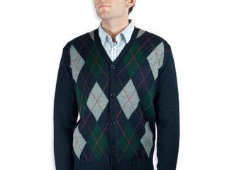 Argyle Cardigan Sweater  SW 299  3XlRetail   59 99
