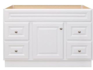 Hampton 48 in  W x 21 in  D x 33 5 in  H Bathroom Vanity Cabinet