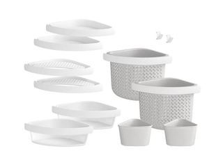 STERlING Store  Family 12 Piece Shelf Kit in White