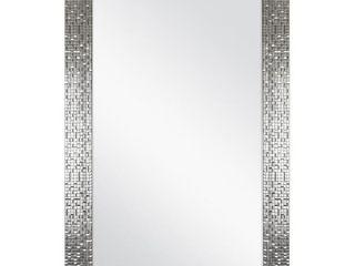 Home Decorators 24 In  W X 35 In  H Framed Anti fog Bathroom Vanity Mirror