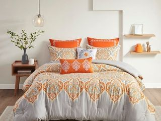 The Curated Nomad largo Cotton 7 piece Comforter Set King Cali King