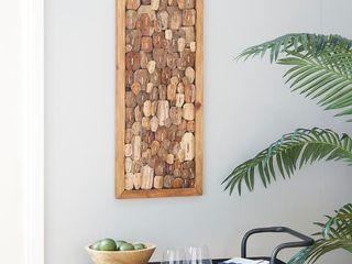Brown Wood Rustic Wall Decor 31 x 14 x 1