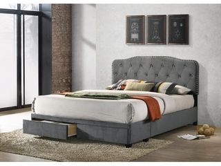 Best Quality Furniture Quee Full Upholstered Headboard  only