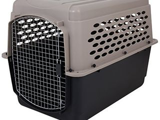 Petmate 21950 Vari Kennel Heavy Duty Dog Travel Crate No Tool Assembly  70 90 lb  Bleached linen