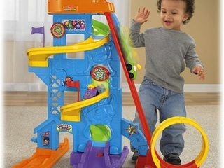 Fisher Price little People loops  n Swoops Amusement Park