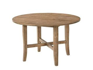 Acme Furniture Kendric Dining Table  Rustic Oak